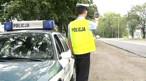 Silniční kontrola v Polsku