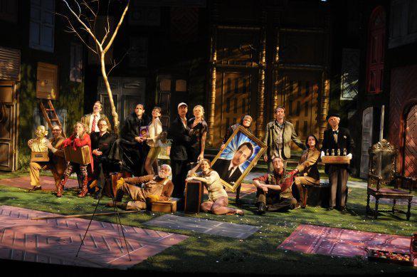 Havlovo Odcházení ve Wilma Theater (USA)
