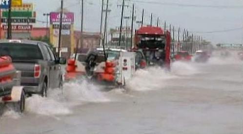 Následky hurikánu Alex v USA