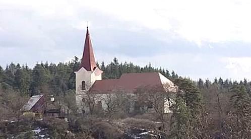 Opravený kostel