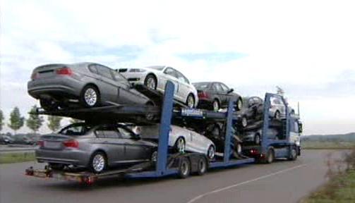 Převoz nových vozů