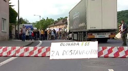 Blokáda silnice