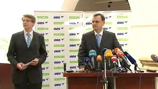 Tisková konference ODS