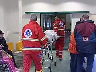 Centrální příjem sokolovské nemocnice
