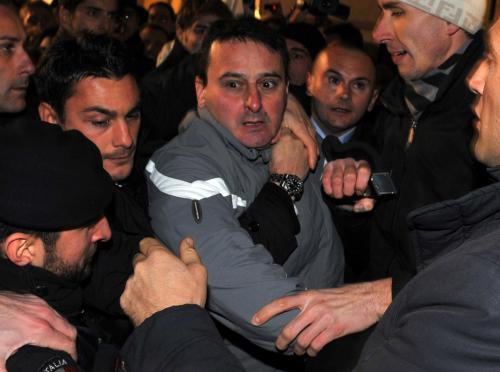 Massimo Tartaglia zranil na mítinku Silvia Berlusconiho