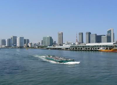 Panorama současného Tokia