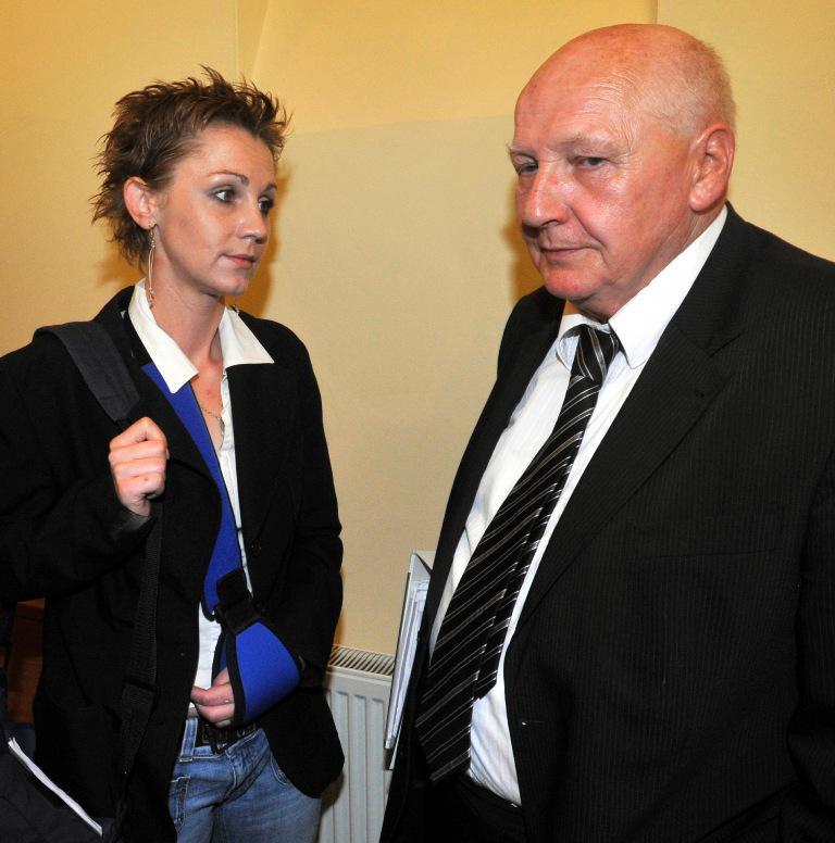 Dagmar Tauchenová s obhájcem Koljou Kubíčkem