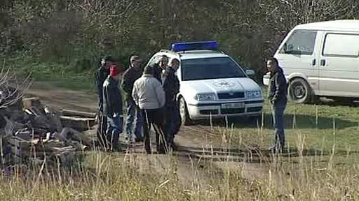 Policejní vyšetřování střelby v Hajanech