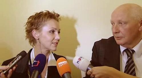 Dagmar Tauchenová a Kolja Kubíček