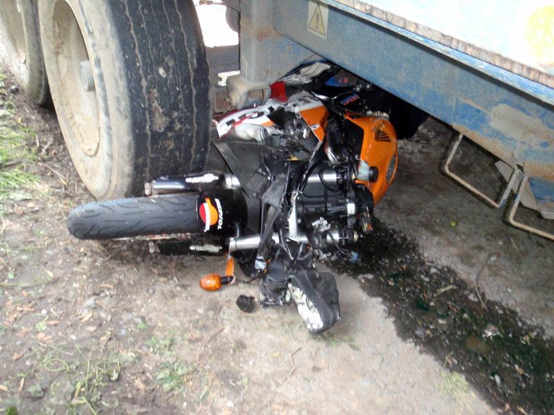 Nehoda motorky