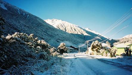 Novozélandská vesnice Otira je na prodej