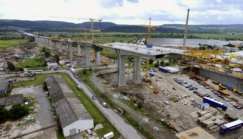 Stavba nejdelšího mostu v ČR