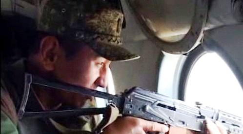 Kyrgyzský voják
