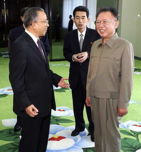 Taj Ping-kuo a Kim Čong-il