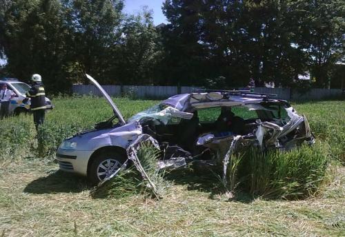 Nehoda na přejezdu u Žďáru nad Sázavou