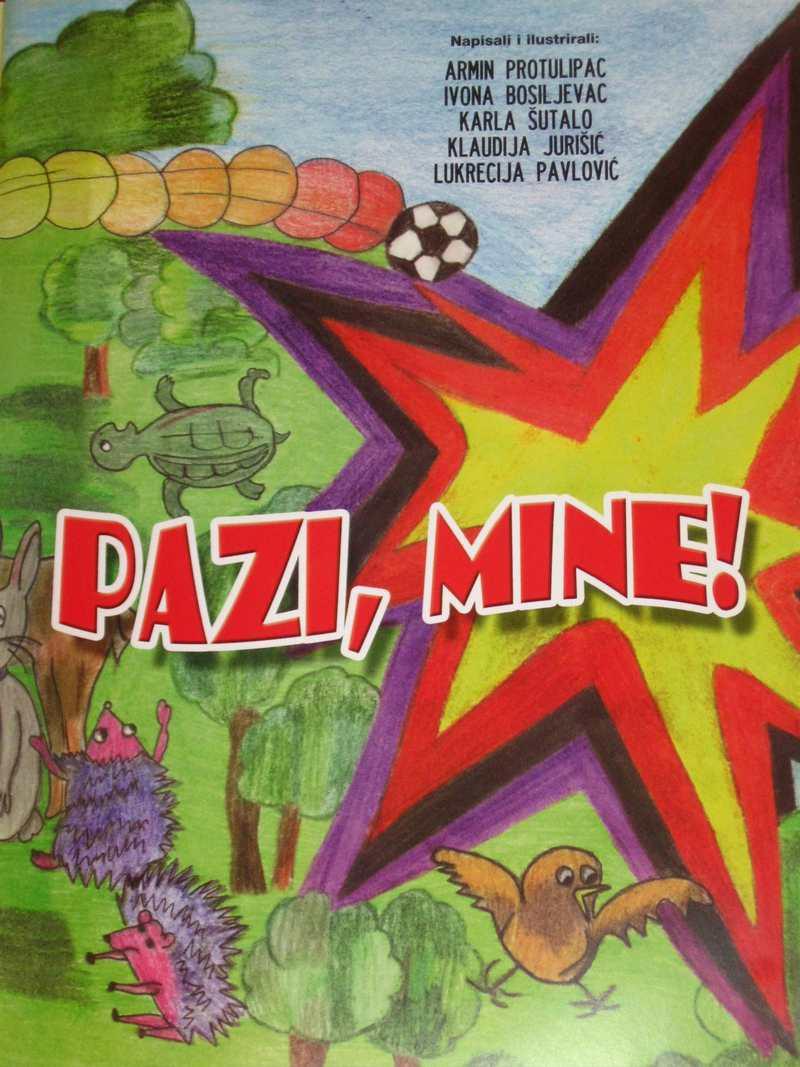 Přebal knihy Pazi, Mine