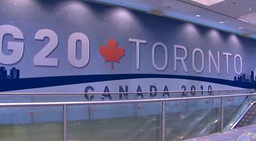 Skupina zemí G20 jedná v Torontu