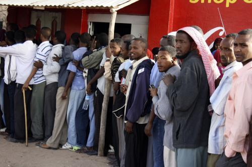 Obyvatelé Somalilandu čekají, aby mohli odvolit
