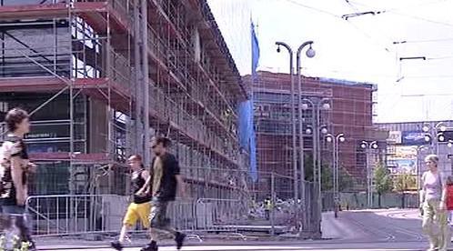 Stavba v Liberci