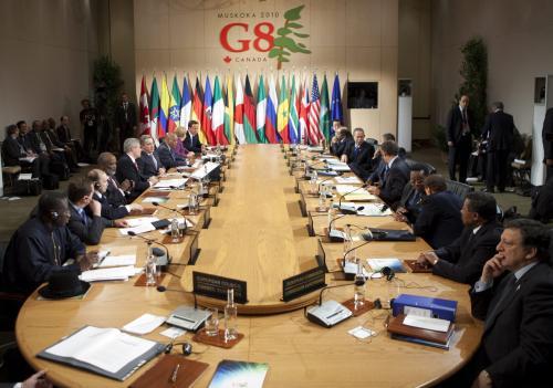 Zasedání G8 v Hutsville