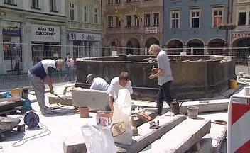 Rekonstrukce kašny