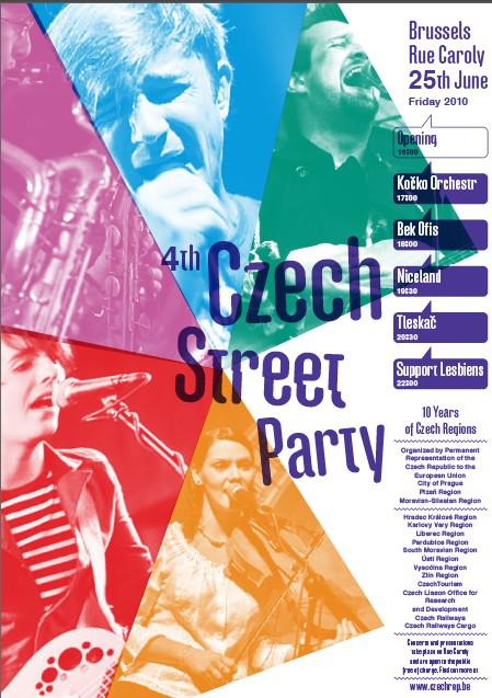 Czech Street Party / plakát