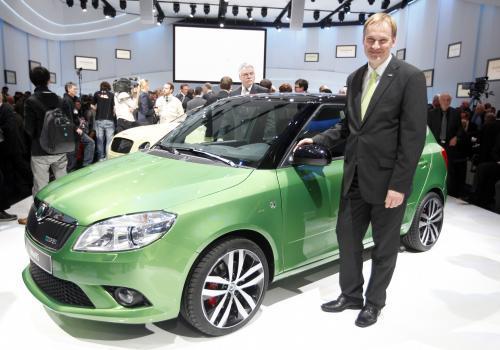 Škoda Fabia RS na ženevském autosalonu