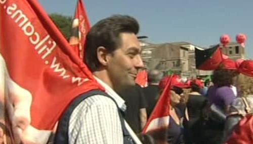 Stávka v Itálii