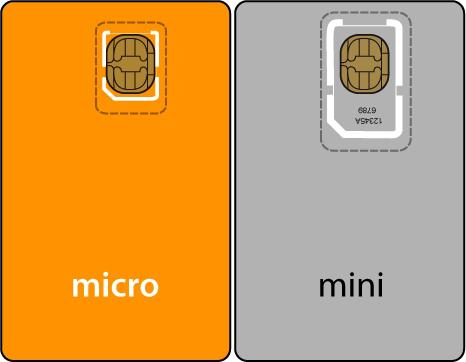 Micro vs. mini SIM