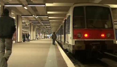 Stávka francouzských železničářů