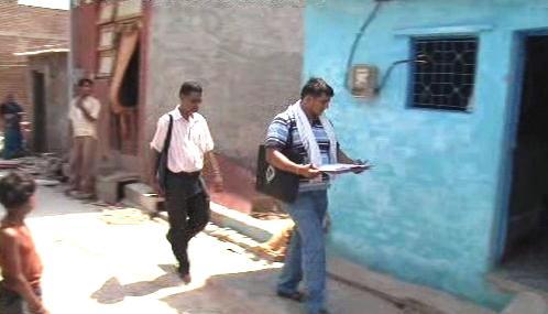 Indičtí komisaři zahájili sčítání lidu