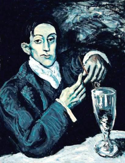 Picassův Piják absintu