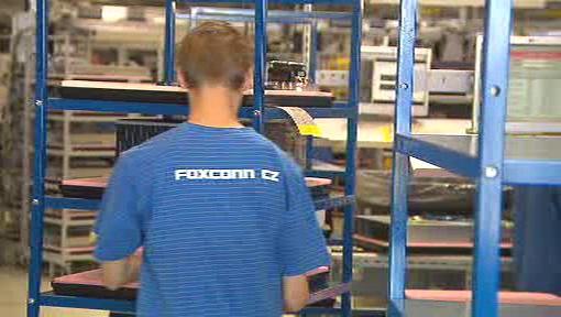 Foxconn v Kutné Hoře