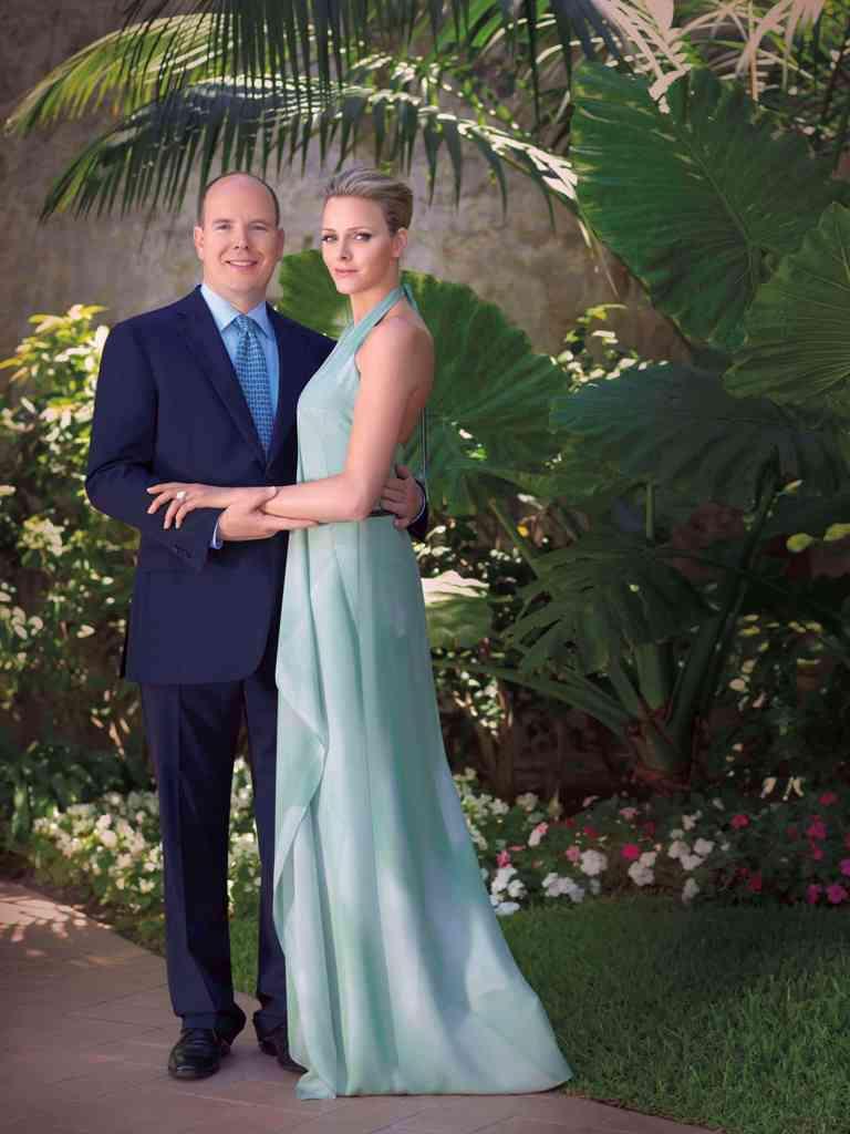 Albert II. a Charlene Wittstocková