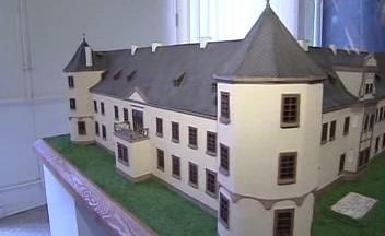 Maketa sokolovského zámku