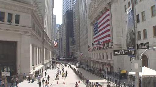 Bankovní ulice Wall Street