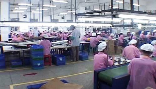 Asijští dělníci