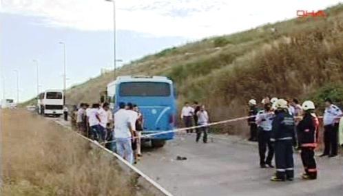 Turecká policie vyšetřuje útok na autobus s vojáky