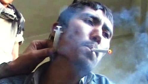 Afghánský narkoman