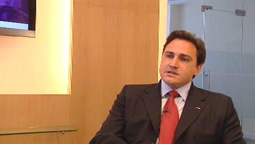 Ředitel Citi International personal bank Grent Carson