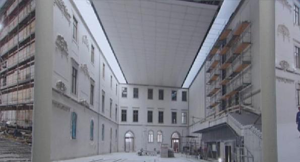 Albertinum / dokumentace rekonstrukce