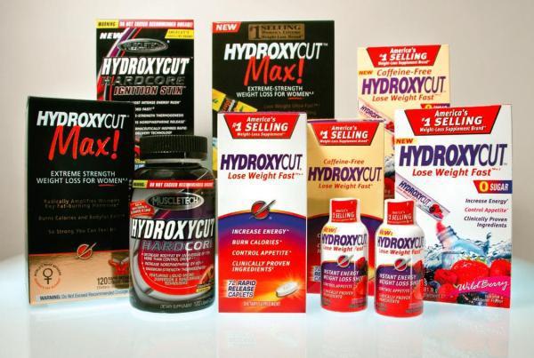 Zakázaný výrobek Hydroxycut