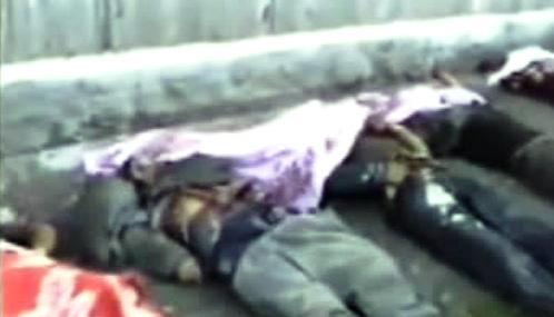 Oběti etnického násilí v Kyrgyzstánu