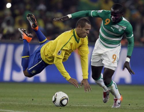 Brazílie - Pobřeží slonoviny