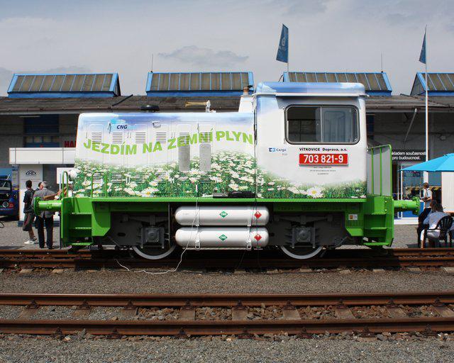 Lokomotiva na CNG
