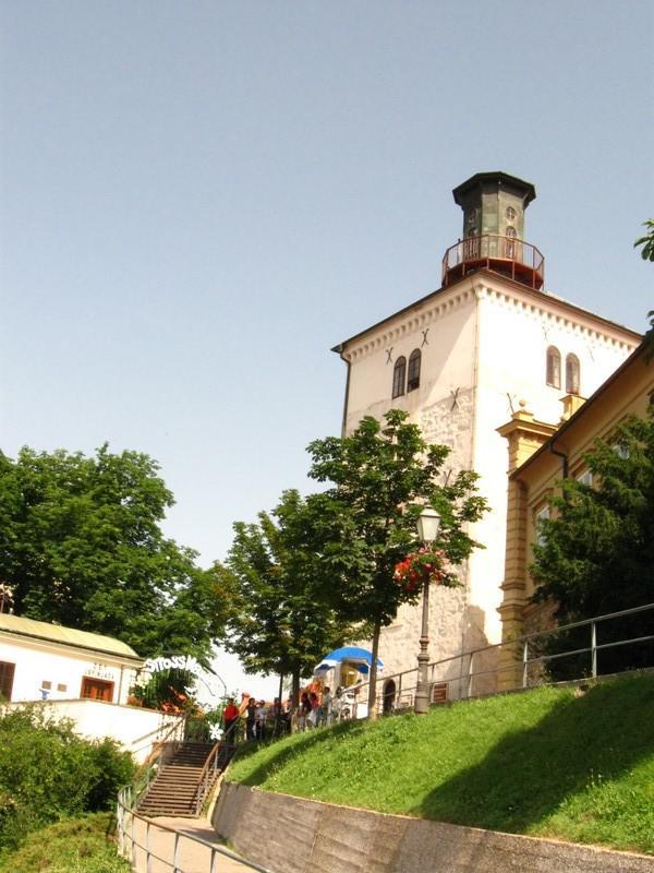 Věž Lotrščak v Záhřebu
