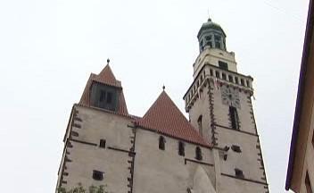 Chrám sv. Jakuba v Prachaticích