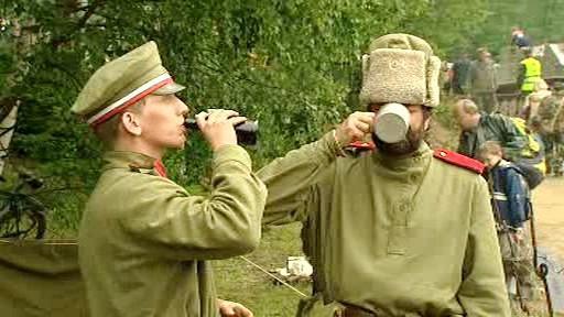 Vojenská přehlídka Bahna 2010