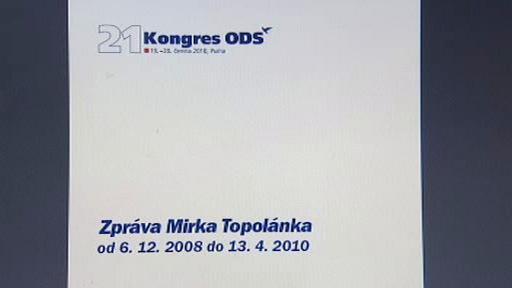 Zpráva Mirka Topolánka