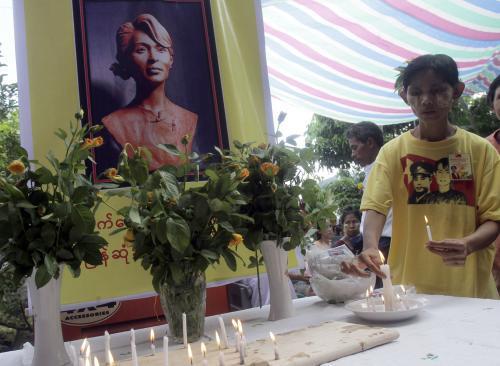 Oslava narozenin Su Ťij